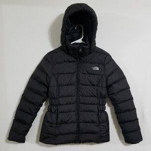 North Face Womens Small Hooded Puffer Jacket Coat